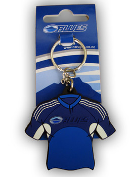 AUCKLAND BLUES rugby shirt key ring