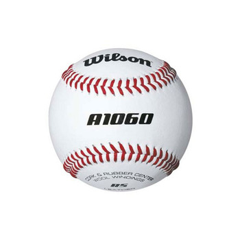 WILSON A1060 youth practice baseball [white]