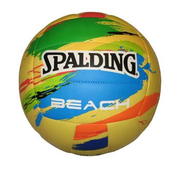 Spalding Paint Splash Beach Volleyball [yellow]
