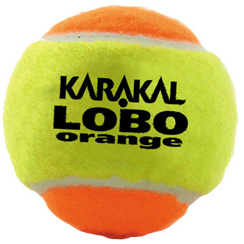 KARAKAL lobo transition tennis balls 1 doz [orange]