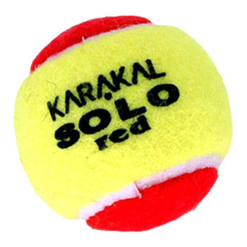 KARAKAL  solo transition tennis balls 1 doz [red]