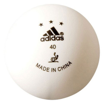 ADIDAS Competition Table Tennis Balls [pack of 3]