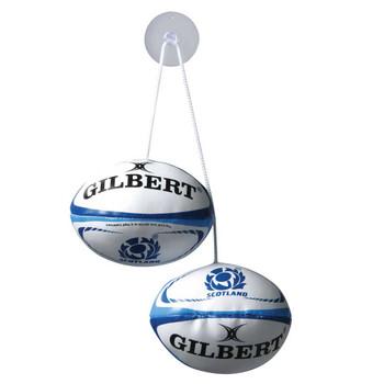 GILBERT scotland rugby dangle set
