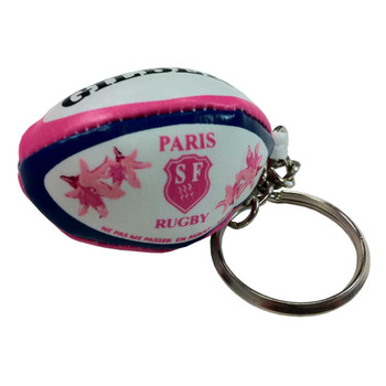 GILBERT stade francais rugby ball key ring