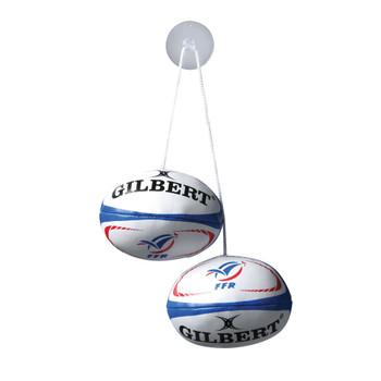 GILBERT France rugby dangle set