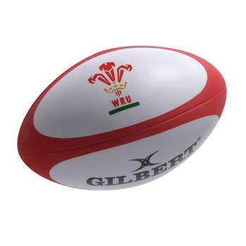 GILBERT wales rugby ball stress ball
