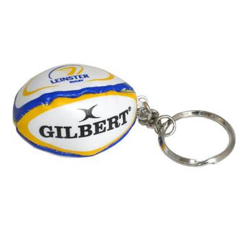 GILBERT Leinster rugby ball key ring