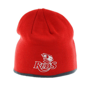 BLK queensland reds rugby beanie hat [red]