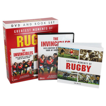 The Greatest Moments of Rugby DVD and Book Set