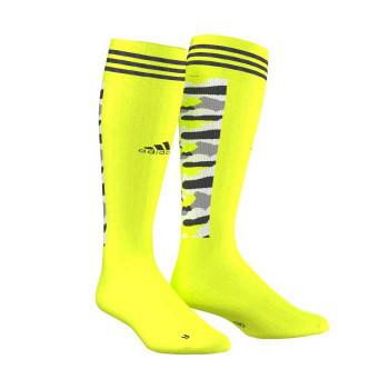 ADIDAS hockey ID camo sock [solar yellow]