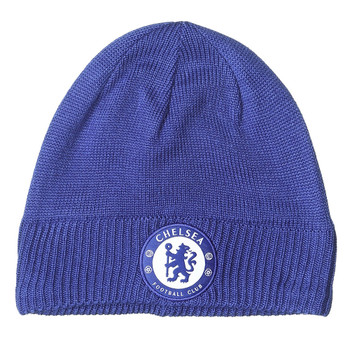 ADIDAS chelsea football beanie hat [blue]