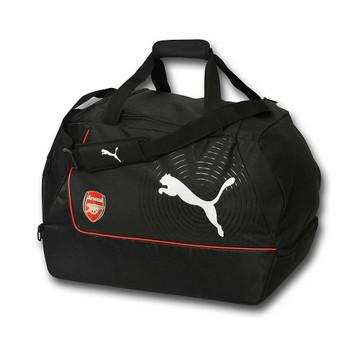 PUMA arsenal football holdall / kit bag [black]