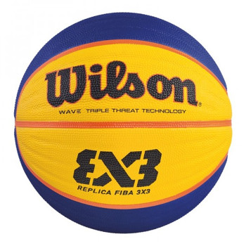WILSON FIBA 3X3 official replica basketball [blue/yellow]