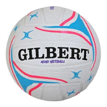 GILBERT apt mini netball [white]