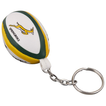 GILBERT South African rugby ball key ring