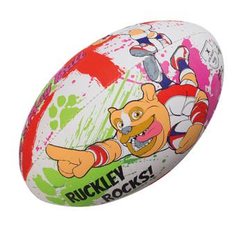 GILBERT england ruckley kid's mascot mini rugby ball