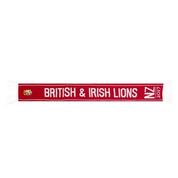 SPORTFOLIO british and irish lions rugby acrylic scarf [red]