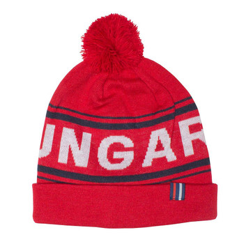 HUNGARIA rc toulon pompom beanie [red]