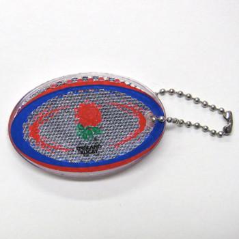 GILBERT england reflective rugby ball key ring