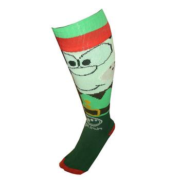 OPTIMUM christmas elf rugby socks [green] Senior (UK 7-11)