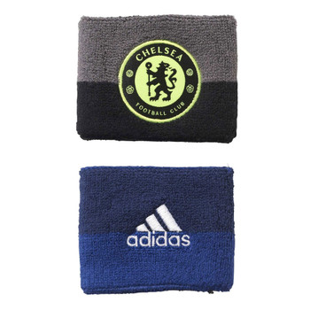 ADIDAS chelsea football wristbands [2 pack]