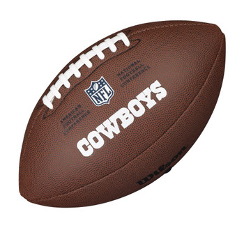 WILSON dallas cowboys NFL official senior composite american football