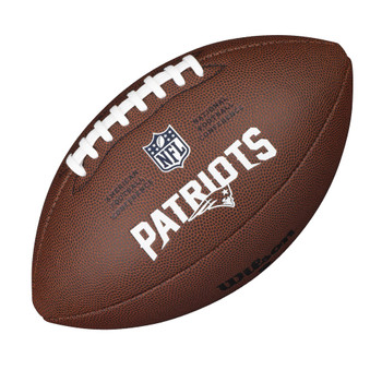 WILSON new england patriots NFL official senior composite american football