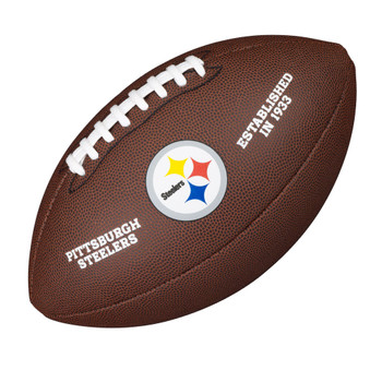 WILSON pittsburgh steelers NFL official senior composite american football