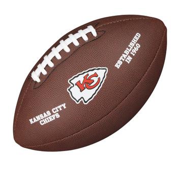 WILSON kansas city chiefs NFL official senior composite american football