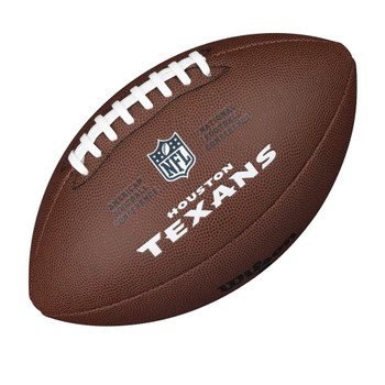 WILSON houston texans NFL official senior composite american football
