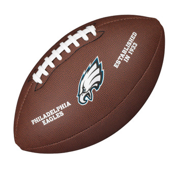 WILSON philadelphia eagles NFL official senior composite american football