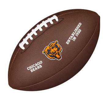 WILSON chicago bears NFL official senior composite american football