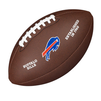 WILSON buffalo bills NFL official senior composite american football
