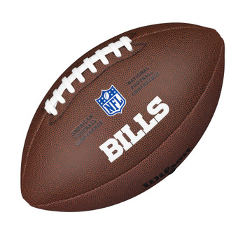 WILSON buffalo bills NFL official senior composite american football