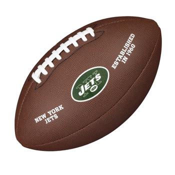 WILSON new york jets NFL official senior composite american football