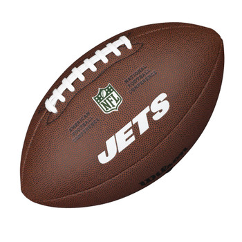 WILSON new york jets NFL official senior composite american football