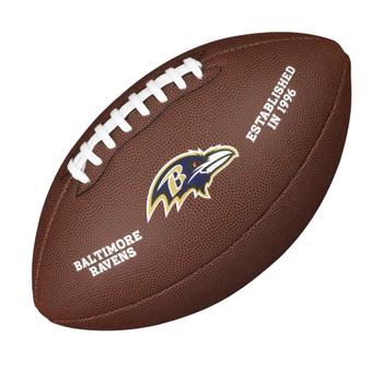 WILSON baltimore ravens NFL official senior composite american football