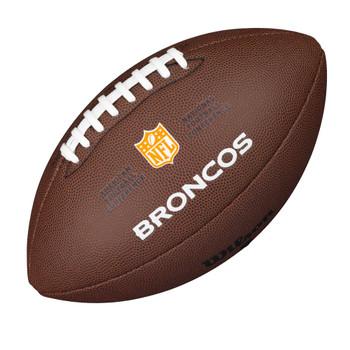 WILSON denver broncos NFL official senior composite american football