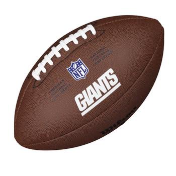 WILSON new york giants NFL official senior composite american football