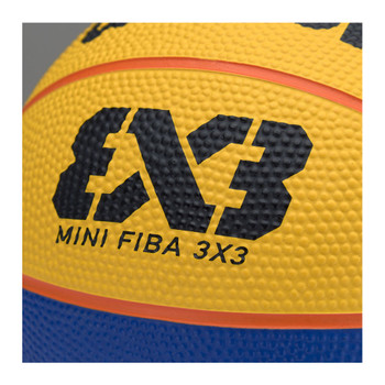 WILSON FIBA 3X3 official replica mini basketball [blue/yellow]