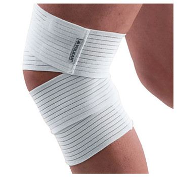 VULKAN elastic knee wrap [white]