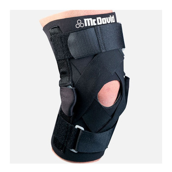 427 T MCDAVID deluxe hinged knee brace black - medium