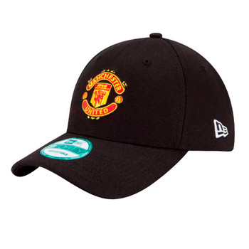 NEW ERA manchester united 9forty adjustable football cap [black]