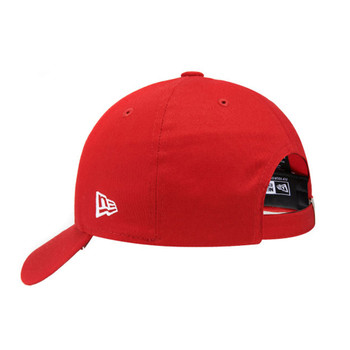 NEW ERA manchester united 9forty adjustable football cap [red]