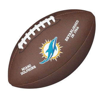 WILSON miami dolphins NFL official senior composite american football