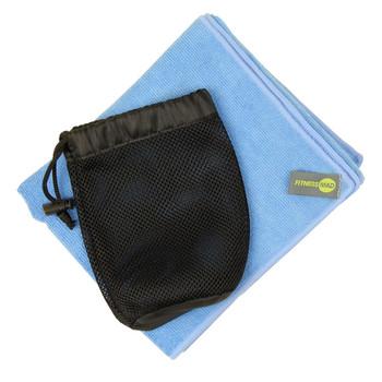 FITNESS-MAD gym towel [light blue]