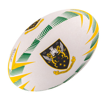 GILBERT Northampton Saints supporter rugby ball  - Size 5