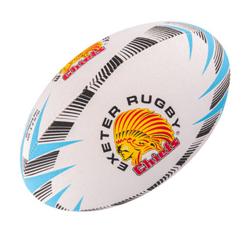 GILBERT exeter chiefs supporter rugby ball size 5