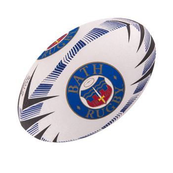 GILBERT Bath Supporter Rugby Ball size 5