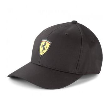PUMA scuderia ferrari fanwear baseball cap [black]